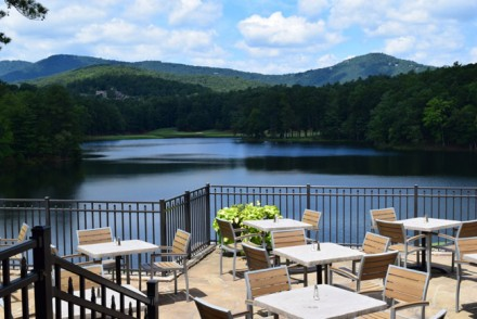 Resort girl rocks in fall at the ritz carlton reynolds for The lodge at big canoe