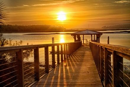 Resort Girl - Sunset